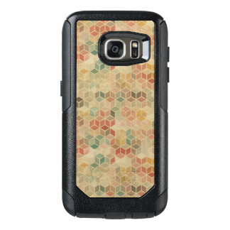 Retro geometric pattern 5 OtterBox samsung galaxy s7 case