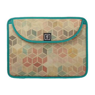 Retro geometric pattern 5 sleeve for MacBooks