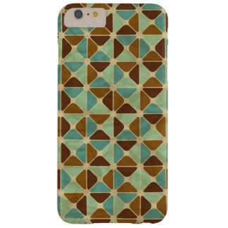Retro geometric pattern barely there iPhone 6 plus case