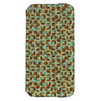 Retro geometric pattern incipio watson™ iPhone 6 wallet case