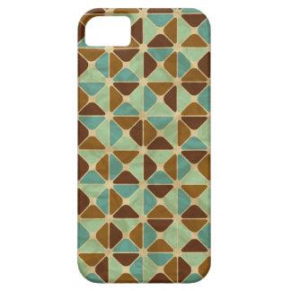 Retro geometric pattern iPhone 5 cases