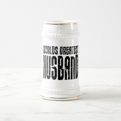 Retro Gifts for Husbands World's Greatest Husband Mug