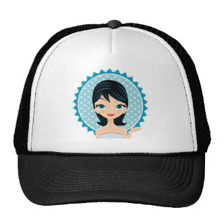 Retro Girl Cap