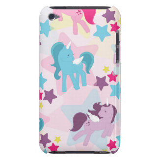 Retro Girly Ponies Barely There iPod Case