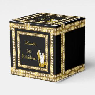 Retro Glamour Hollywood Fabulous 50 Gold Deco Box