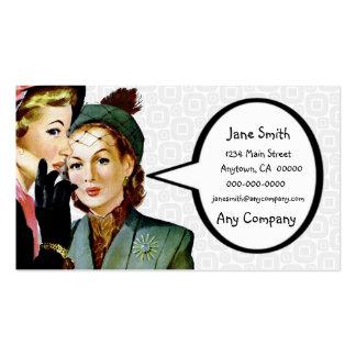 Retro Gossip Pack Of Standard Business Cards