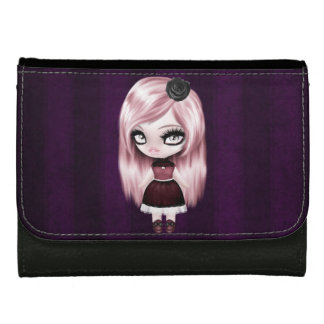 Retro Goth Gothic Doll Women's Wallet