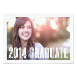 Retro Grad 2014   Graduation Invitation