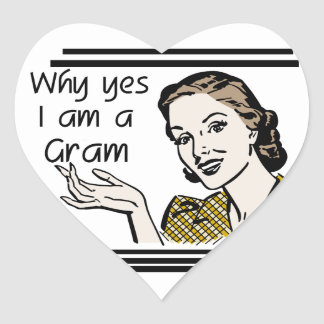 Retro Gram Tshirts and Gifts Sticker