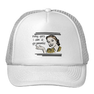 Retro Grammie T-shirts and Gifts Mesh Hats