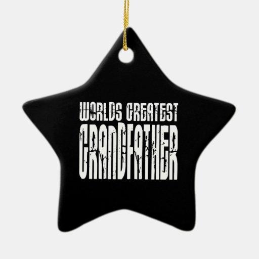 Retro Grandfathers : World's Greatest Grandfather Christmas Ornament