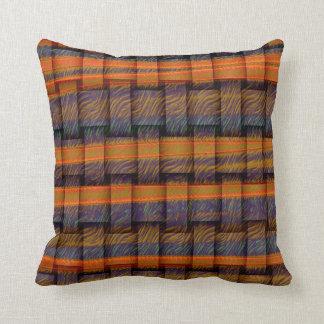 Retro graphic design cushion