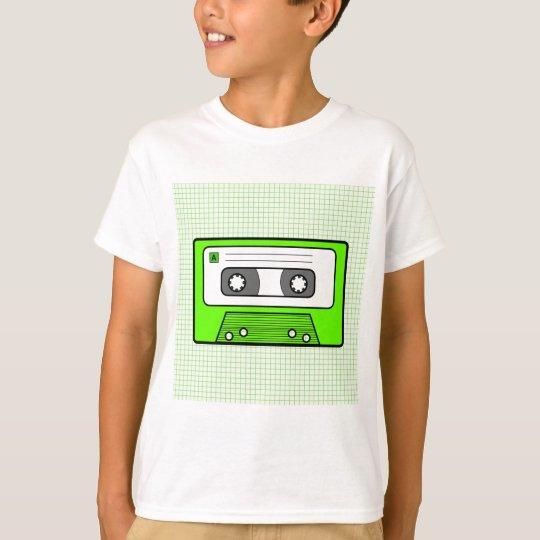 "Retro Green 80""s Mixtape T-Shirt"