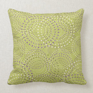 Retro Green Cushion