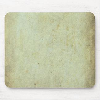 Retro Green Grunge Pattern Mousepads
