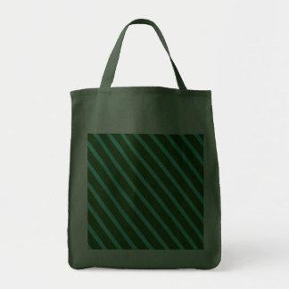 Retro Green Stripes Bag