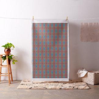 Retro Greenhouse Pattern Fabric