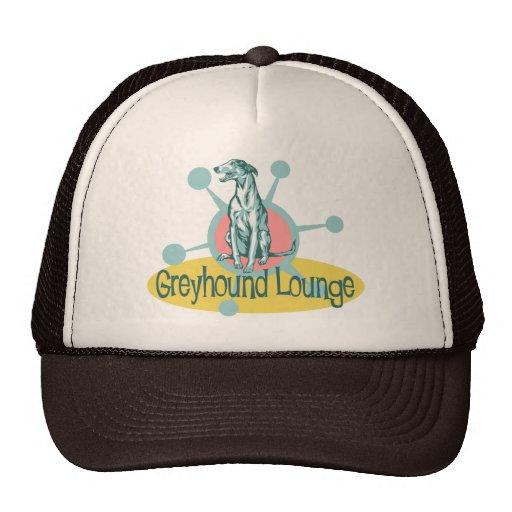 Retro Greyhound Lounge Mesh Hat