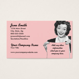 Retro Grin Business Card