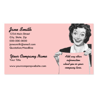 Retro Grin Pack Of Standard Business Cards