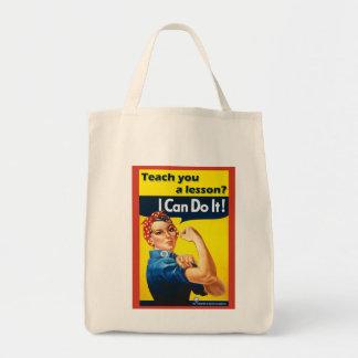 Retro Grocery Bag