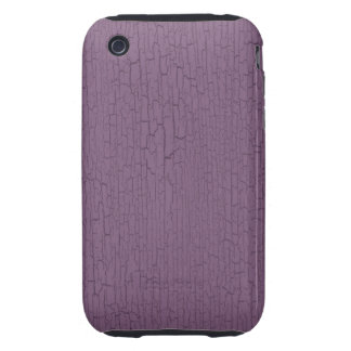 Retro Grunge Crackled Purple Texture iPhone 3 Tough Covers