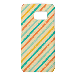 Retro grunge striped pattern
