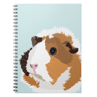 Retro Guinea Pig 'Elsie' Notebook