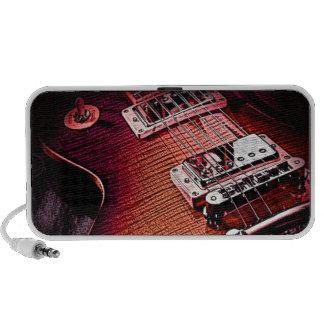 Retro Guitar Notebook Speaker