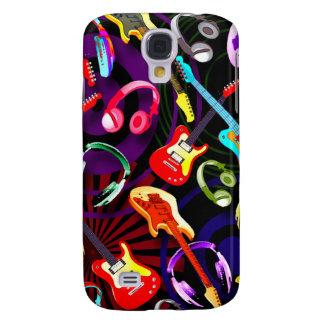 Retro Guitars and Heads 3G/3GS  Galaxy S4 Case
