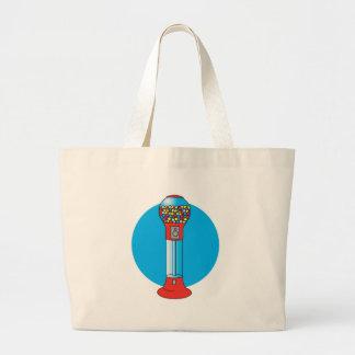 retro gumball machine large tote bag