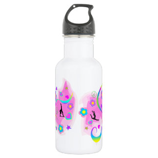 Retro Gymnastics 532 Ml Water Bottle