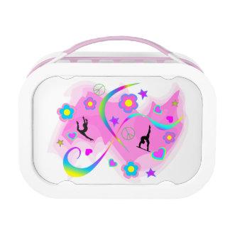 Retro Gymnastics Lunch Box