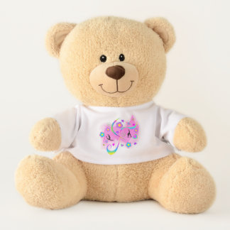 Retro Gymnastics Teddy Bear