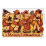 Retro Halloween Greeting Card