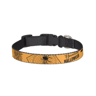 Retro Halloween Pet Collar