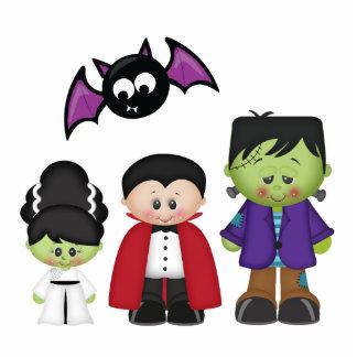 Retro Halloween Photo Cutout