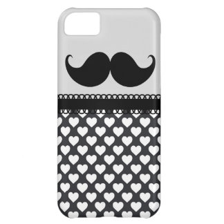 Retro Handlebar Mustache iPhone 5C Case