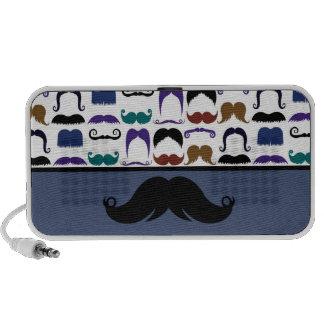 Retro Handlebar Mustache Moustache Stache iPod Speaker
