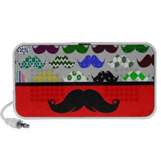 Retro Handlebar Mustache Moustache Stache iPhone Speaker