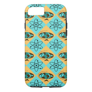 Retro Harlequin Globe Trotter iPhone 7 Case