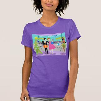 Retro Hawaiian Christmas T-Shirt