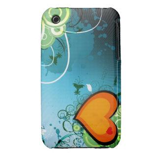 Retro Heart Case-Mate iPhone 3 Cases