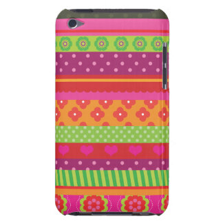 Retro heart flower polka dot design iphone case iPod Case-Mate cases