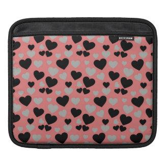 Retro Hearts iPad Sleeves