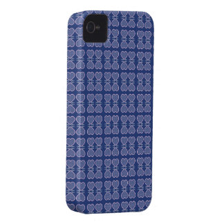 Retro Hearts iPhone 4 Case
