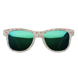 Retro Hearts Sunglasses