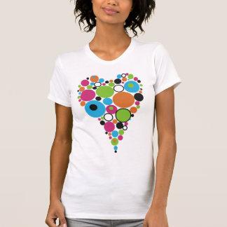 Retro Hearts T-shirts