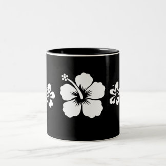 Retro Hibiscus Coffee Mugs
