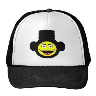 Retro High-Top Monkey Hat